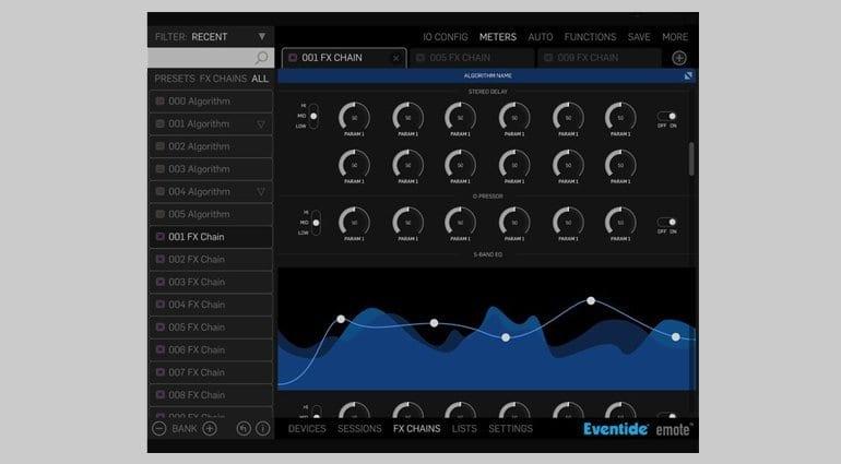 Eventide H9000 - Remote Screenshot 1