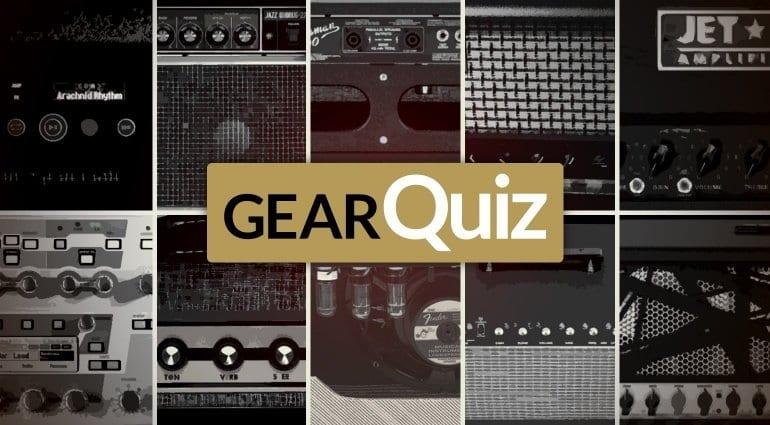 Guitar Amps Quiz 2016