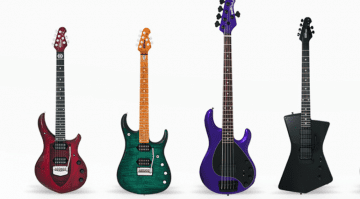 Ernie Ball Music Man 2017 lineup announced