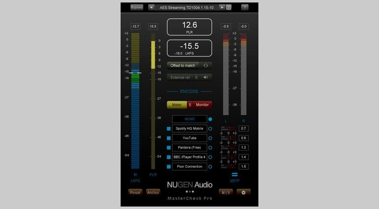 Nugen Audio MasterCheck Pro Plug-in