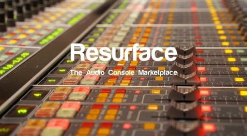 Resurface - The Audio Console Marketplace