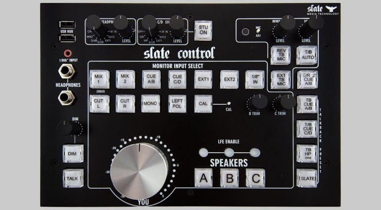 Slate Control Centre Section Top View