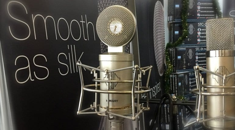 Sontronics Mercury Valve Mic spotted at MPX 2016