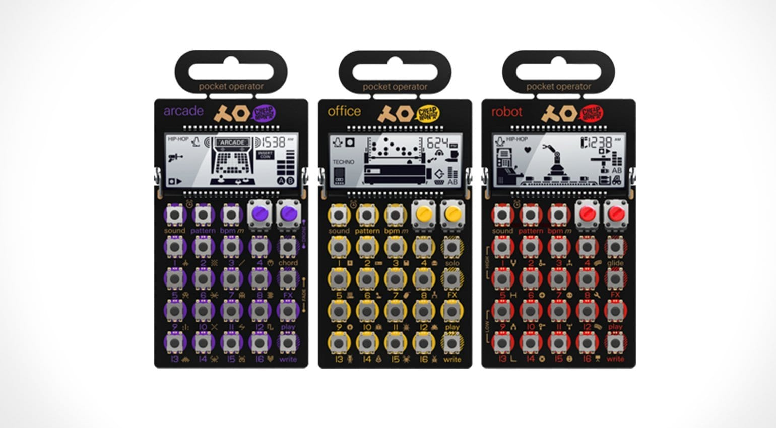 Top 5 Mini Synth Stocking Fillers Under 100 Surf Sound Synthesizer Teenage Engineering Pocket Operator Range Source