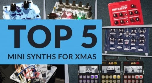 Five synth stocking fillers for Christmas