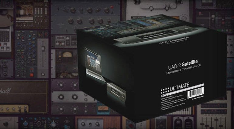 Ua announces new flagship ultimate 5 software package gearnews uad ultimate 5 plug in bundle stopboris Image collections