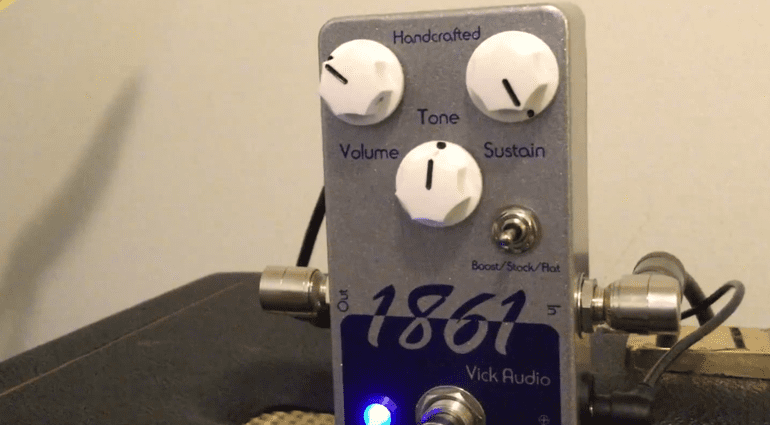 Vick Audio 1861 tao fuzz pedal
