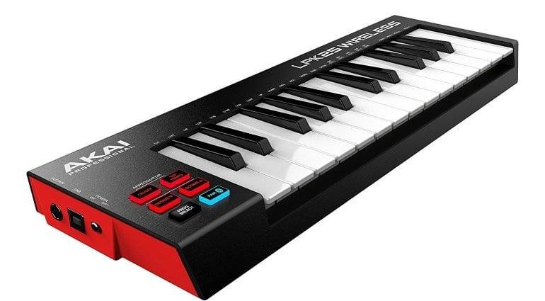 Akai LPK25 Bluetooth keyboard controller