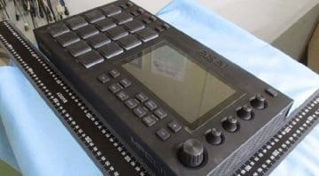 Akai MPC Live standalone sampler leaked image