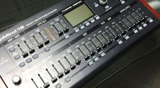 Behringer DeepMind 12 desktop synthesizer