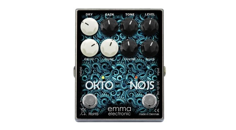 ON-1 Okto-Nøjs, Octave,Synth, fuzz, effect, pedal, bass, guitar