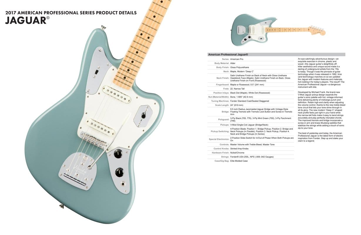 Fender Pro USA Series Leak: New offsets, Strats and Teles to launch