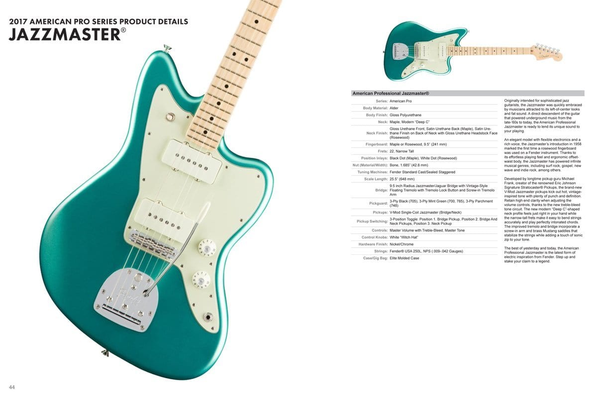 Fender Pro USA Series Leak: New offsets, Strats and Teles to