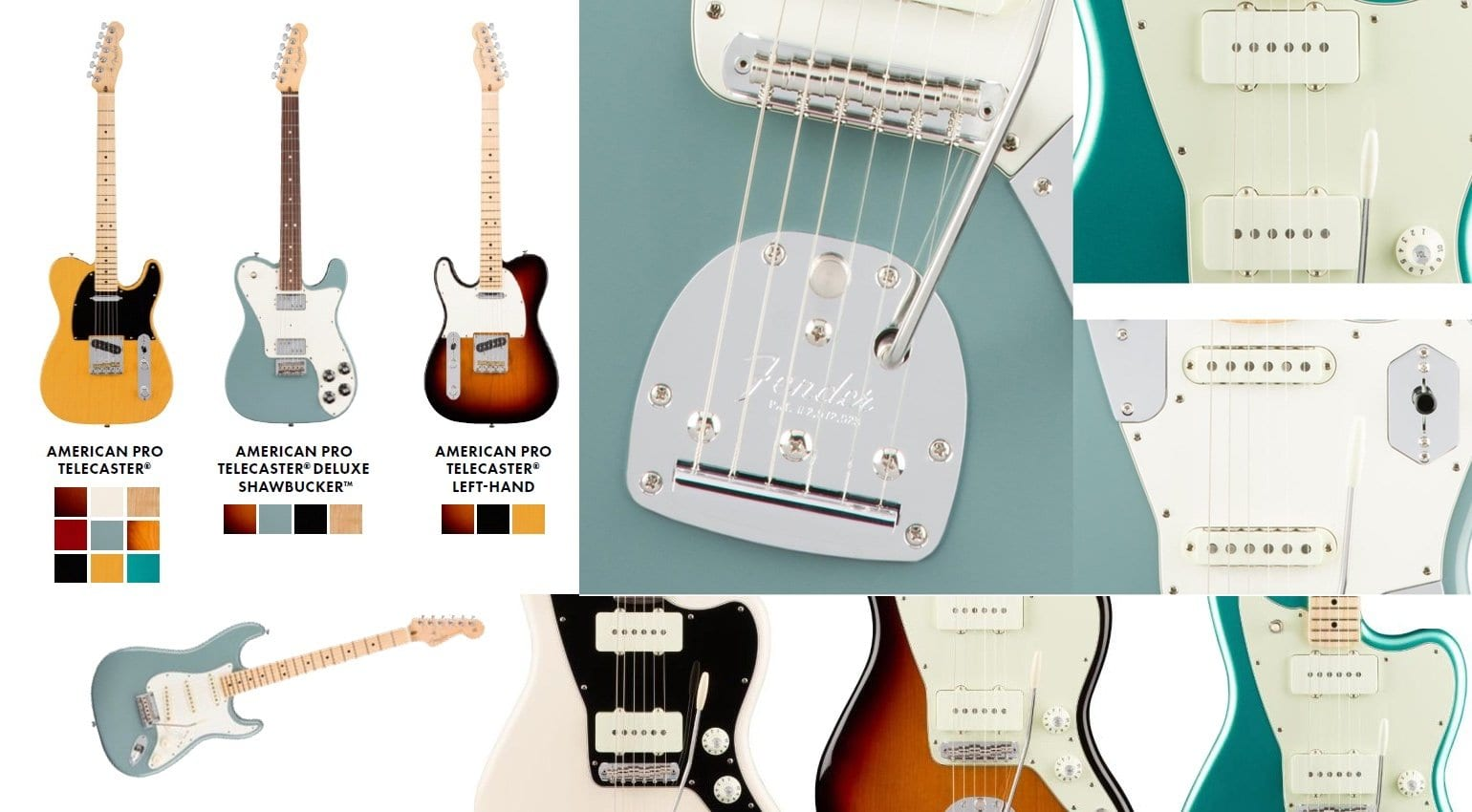 Fender Pro Usa Series Leak New Offsets Strats And Teles To Launch Strat Master Tone Stratocaster Guitar Forum American Professional Lineup For 2017 Source The Fretboardcouk