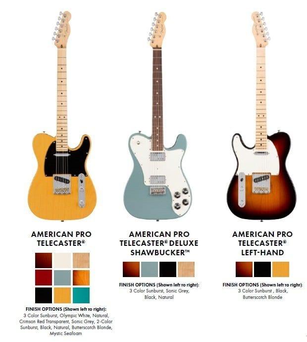 Fender American Pro Telecaster Tele Deluxe