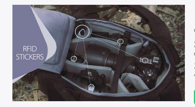 GearEye scanning for your gear