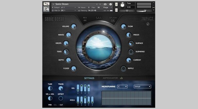 Impact Soundworks Sonic Ocean in Kontakt