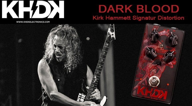KHDK Electronics Dark Blood pedal