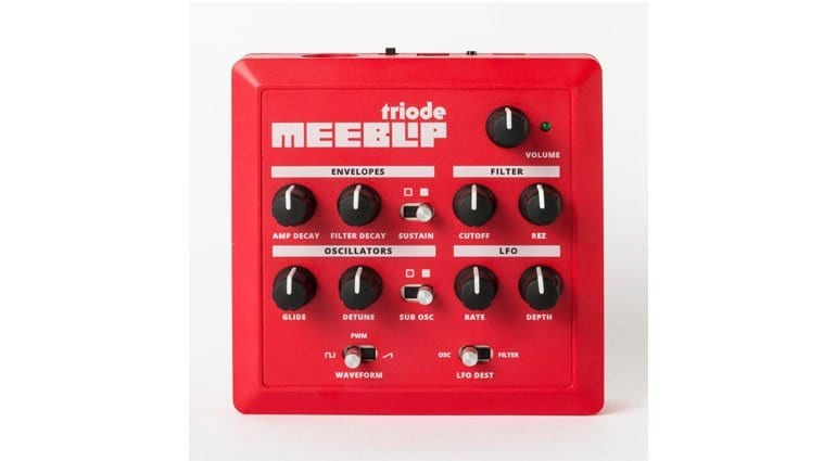 The Meeblip Triode Mini Synthesizer