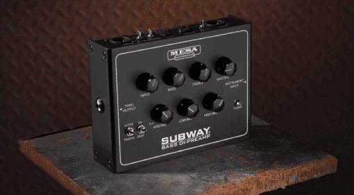 Mesa Subway Bass Preamp Pedal Class-D D-800