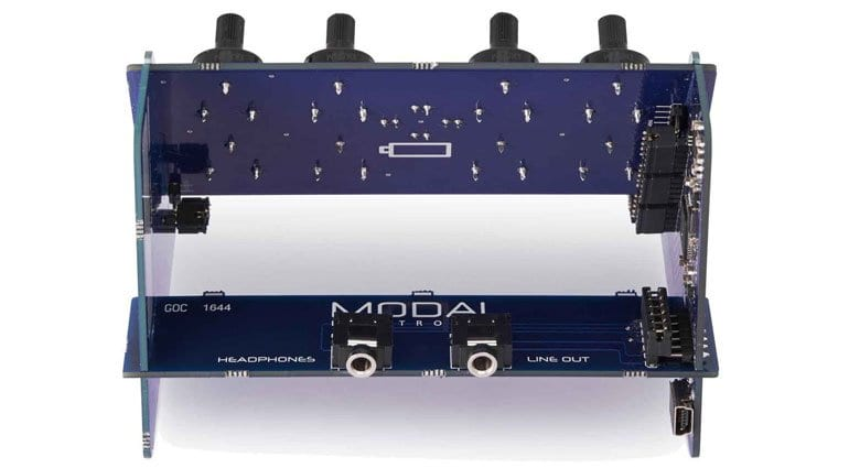 Modal CRAFTsynth - back view