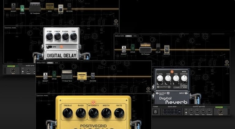 Postive Grid Bias FX LE Focusrite guitar plugin effect bundle