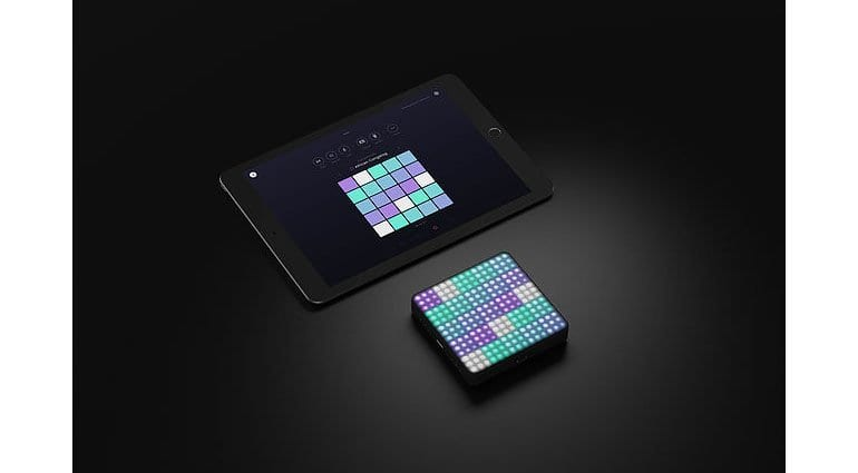 ROLI Blocks with iPad and Noise app