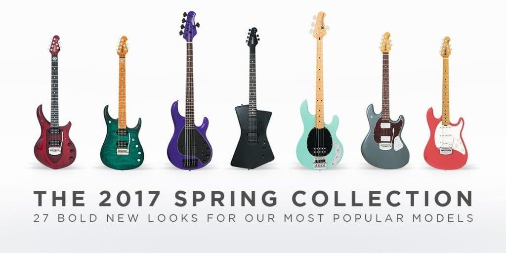 Ernie Ball Music Man 2017 Spring Collection