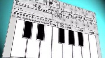 Tiny TS synthesizer