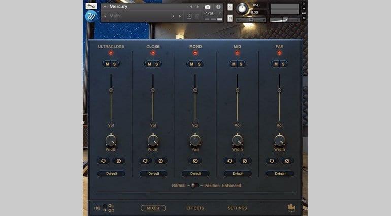 Wavesfactory Mercury mixer