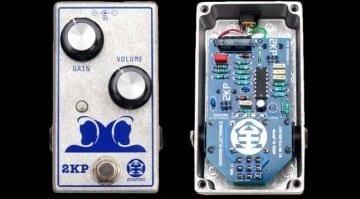 2KP pre-amp/booster boutique pedal