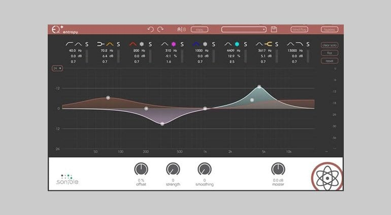 Sonible Entropy EQ Plugin