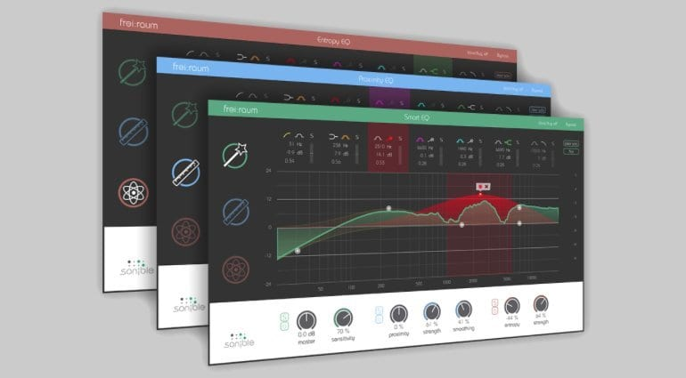 Sonible Frei:raum EQ Plugin Package