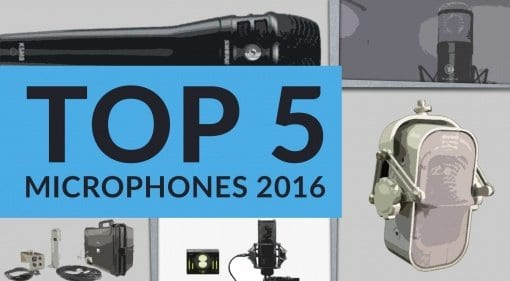 Top 5 Microphones 2016 gearnews.com