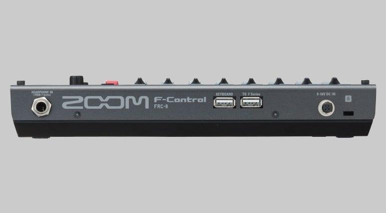Zoom F-Control - Rear