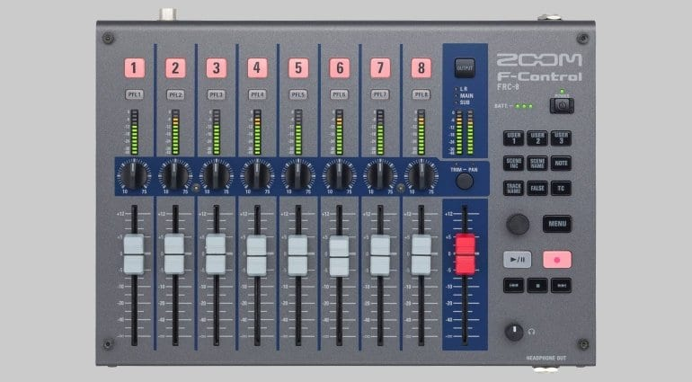 Zoom F-Control - Top