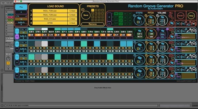 AudioModern Random Groove Generator Pro