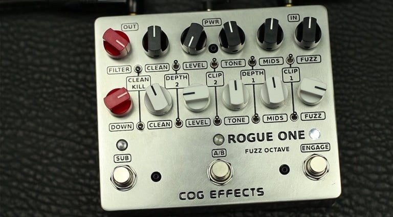 Cog Effects Rogue One twin bass fuzz octave