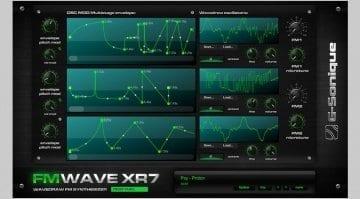 G-Sonique FM Wave XR7 Front panel