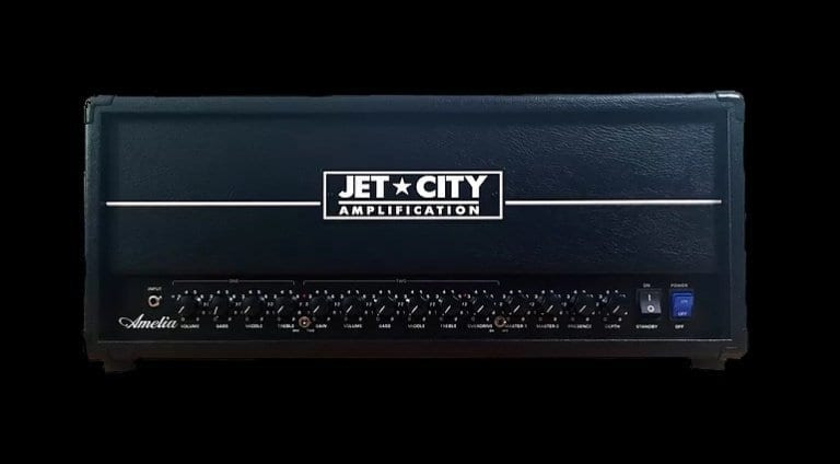 Jet City Amelia, twin channel all tube amp