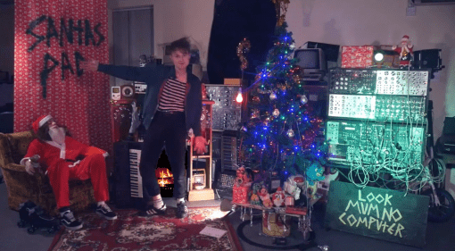 Jingle Bells played on baubles via MIDI by Look Mum No Computer