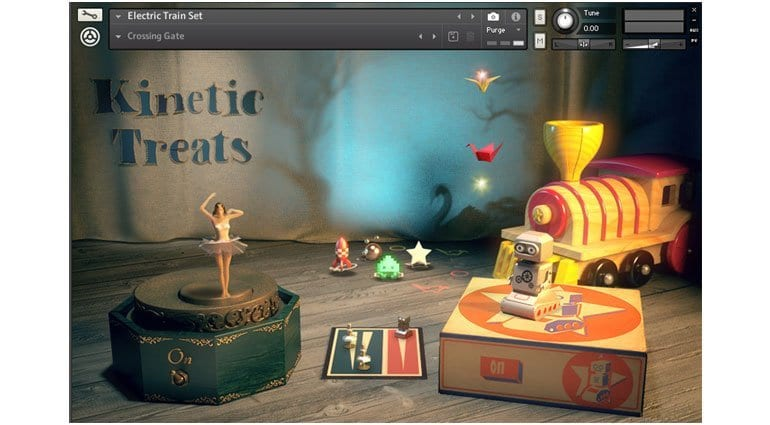 native instruments - kinetic toys library