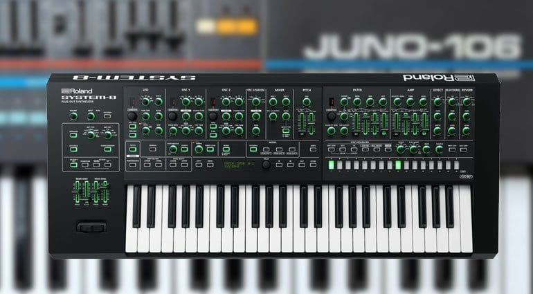 Juno-106 plug-out for System-8 arrives with new update