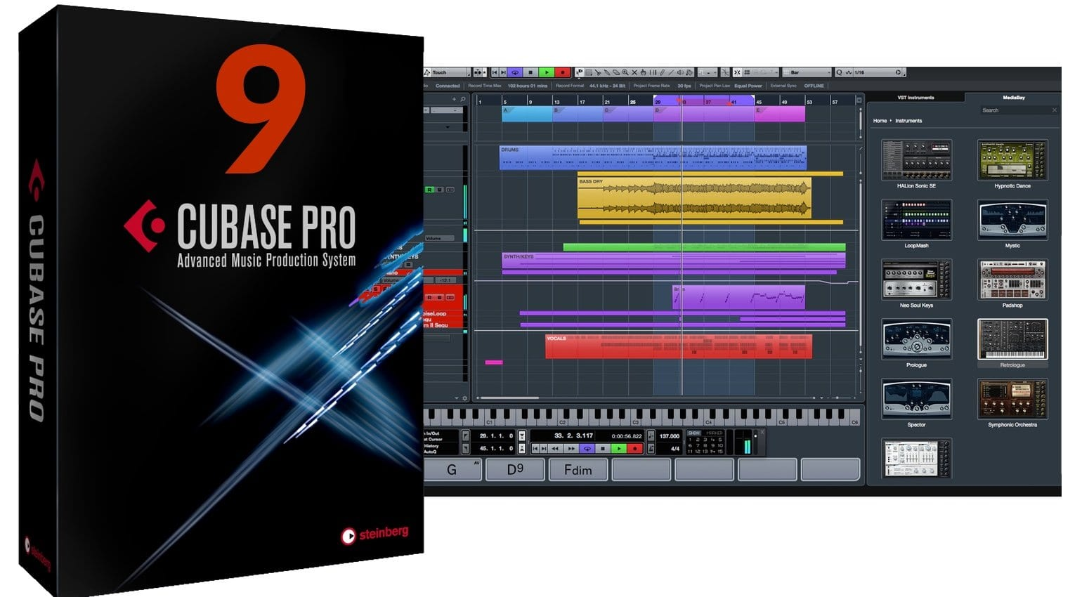 cubase 9 launched steinberg releases major updates for pro artist and elements. Black Bedroom Furniture Sets. Home Design Ideas