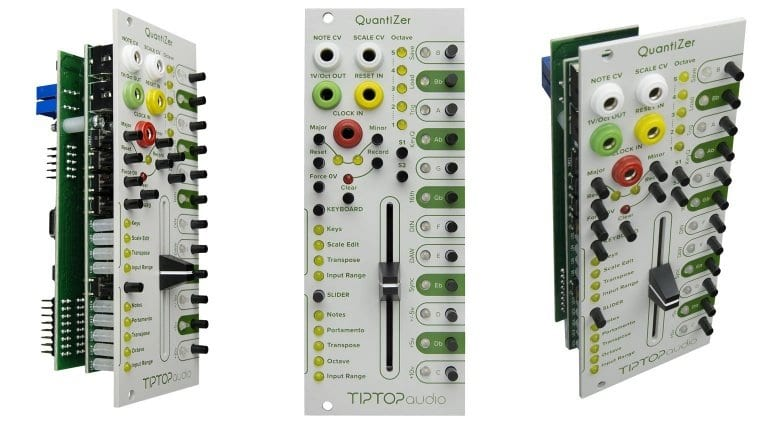 TipTop Audio QuantiZer panel from three angles