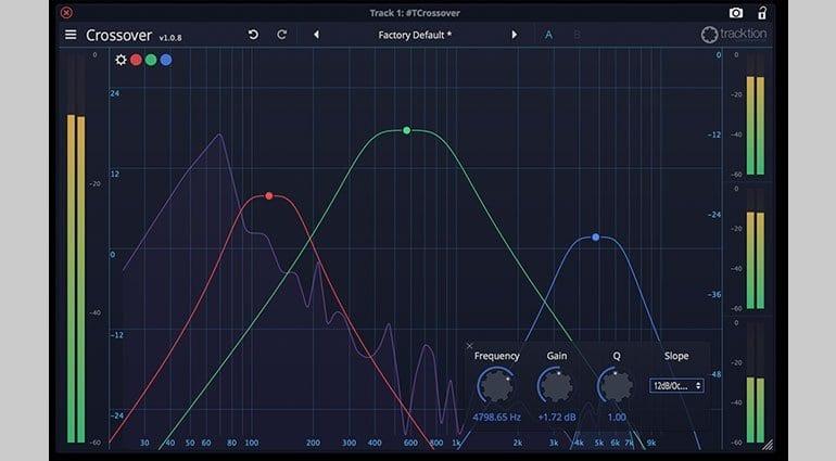 Tracktion DAW Essentials Crossover