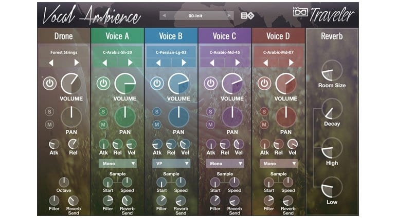 UVI World Suite Vocal Ambience Traveler
