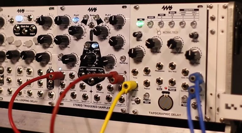 4MS sampler and delay modules