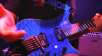 Boss Strandberg Boden Prototype Guitar NAMM 2017
