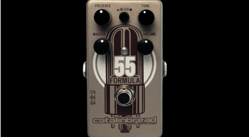 NAMM 2017 Catalinbread Formula No. 55 Foundation Overdrive pedal